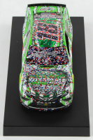 Kyle Busch Signed 2019 NASCAR #18 Interstate Batteries - Auto Club Speedway Win - Raced Version - 1:24 Premium Action Diecast Car (PA COA) at PristineAuction.com