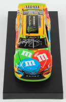 Kyle Busch Signed 2019 NASCAR #18 M&M's Champion - 1:24 Premium Action Diecast Car (PA COA) at PristineAuction.com