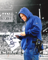"""Bill Belichick Signed Patriots 8x10 Photo Inscribed """"Pats"""" (Beckett COA) at PristineAuction.com"""