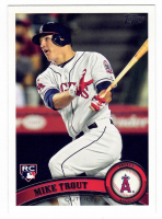 Mike Trout 2011 Topps Update #US175 RC at PristineAuction.com