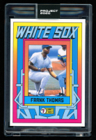 Frank Thomas 2020 Topps Project 2020 #285 / Grotesk (Project 2020 Encapsulated) at PristineAuction.com