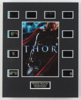 """""""Thor"""" LE 8x10 Custom Matted Original Film / Movie Cell Display at PristineAuction.com"""