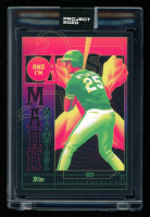 Mark McGwire 2020 Topps Project 2020 #276 / Matt Taylor (Project 2020 Encapsulated) at PristineAuction.com