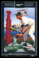 Don Mattingly 2020 Topps Project 2020 #278 / Don C (Project 2020 Encapsulated) at PristineAuction.com