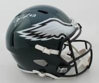 Jalen Reagor Signed Eagles Full-Size Speed Helmet (Beckett COA) at PristineAuction.com