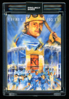 George Brett 2020 Topps Project 2020 #286 / Andrew Thiele (Project 2020 Encapsulated) at PristineAuction.com