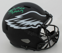 "Jalen Reagor Signed Eagles Full-Size Eclipse Alternate Speed Helmet Inscribed ""Fly Eagles Fly"" (Beckett COA) at PristineAuction.com"