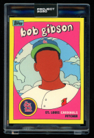 Bob Gibson 2020 Topps Project 2020 #279 / Fucci (Project 2020 Encapsulated) at PristineAuction.com