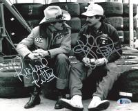 Richard Petty & Kyle Petty Signed NASCAR 8x10 Photo (Beckett COA) at PristineAuction.com