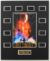 """Star Trek: First Contact"" LE 8x10 Custom Matted Original Film / Movie Cell Display at PristineAuction.com"