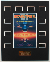 """""""Star Trek VI: The Undiscovered Country"""" LE 8x10 Custom Matted Original Film / Movie Cell Display at PristineAuction.com"""