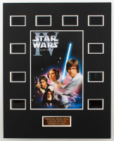 """Star Wars IV: A New Hope"" LE 8x10 Custom Matted Original Film / Movie Cell Display at PristineAuction.com"