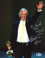 """Henry Winkler Signed 8x10 Photo Inscribed """"I Loved This Night"""" & """"8/20"""" (Beckett COA) at PristineAuction.com"""