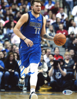 Luka Doncic Signed 8x10 Photo (Beckett COA) at PristineAuction.com