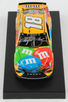 Kyle Busch Signed 2019 NASCAR #18 M&M's - 1:24 Premium Action Diecast Car (PA COA) at PristineAuction.com