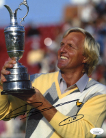 Greg Norman Signed 8x10 Photo (JSA COA) at PristineAuction.com