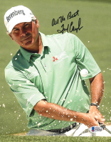 """Fred Couples Signed 8x10 Photo Inscribed """"All The Best"""" (Beckett COA) at PristineAuction.com"""