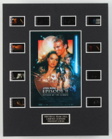"""""""Star Wars: Episode II – Attack of the Clones"""" LE 8x10 Custom Matted Original Film / Movie Cell Display at PristineAuction.com"""