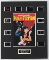 """Pulp Fiction"" LE 8x10 Custom Matted Original Film / Movie Cell Display at PristineAuction.com"