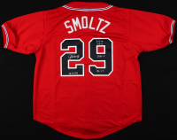 John Smoltz Signed LE Jersey with (4) Career Stat Inscriptions (Radtke COA) at PristineAuction.com
