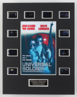 """Universal Soldier"" LE 8x10 Custom Matted Original Film / Movie Cell Display at PristineAuction.com"
