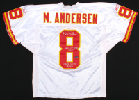 "Morten Anderson Signed Game-Used Chiefs Uniform Inscribed ""Hall of Fame 2017"" & ""Game Worn 2003"" (Anderson COA) at PristineAuction.com"