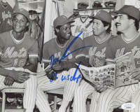 """Dwight """"Doc"""" Gooden Signed Mets 8x10 Photo Inscribed """"86 W.S. Champs"""" (JSA COA) at PristineAuction.com"""