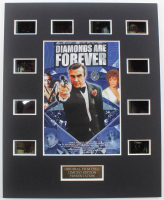 """Diamonds Are Forever"" LE 8x10 Custom Matted Original Film / Movie Cell Display at PristineAuction.com"