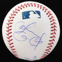 OML Baseball Signed by Alexandria Ocasio-Cortez, Robert D. Manfred Jr., & Joseph P. Kennedy III (JSA LOA) at PristineAuction.com