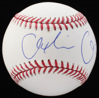 "Alexandria Ocasio-Cortez Signed OML Baseball Inscribed ""AOC"" (JSA LOA) at PristineAuction.com"