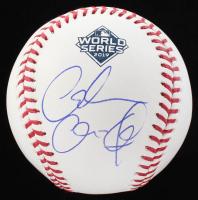 Alexandria Ocasio-Cortez Signed 2019 World Series Baseball (JSA LOA) at PristineAuction.com