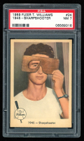 Ted Williams 1959 Fleer #24 1945 Sharpshooter (PSA 7) at PristineAuction.com