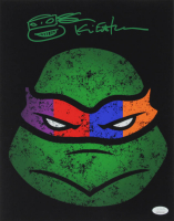 "Kevin Eastman Signed ""Teenage Mutant Ninja Turtles"" 11x14 Photo with Hand-Drawn Turtle Sketch (Beckett COA) at PristineAuction.com"