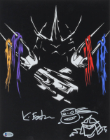 "Kevin Eastman Signed ""Teenage Mutant Ninja Turtles"" 11x14 Photo With Hand-Drawn Sketch (Beckett COA) at PristineAuction.com"