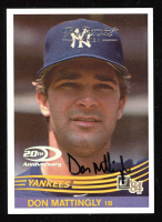 Don Mattingly 2001 Donruss Rookie Reprints Autograph #RR5 at PristineAuction.com