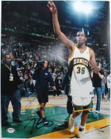 Kevin Durant Signed SuperSonics 11x14 Photo (PSA Hologram) at PristineAuction.com