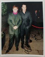 Elton John & David Furnish Signed 8x10 Photo (JSA ALOA) at PristineAuction.com