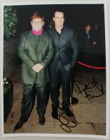 Elton John & David Furnish Signed 8x10 Photo (JSA ALOA) at PristineAuction.com