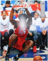 DeAndre Jordan Signed Clippers 11x14 Photo (PSA Hologram) at PristineAuction.com