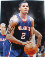 Joe Johnson Signed Hawks 11x14 Photo (PSA Hologram) at PristineAuction.com
