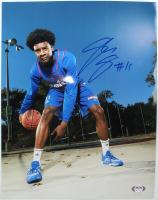 Josh Jackson Signed Kansas Jayhawks 11x14 Photo (PSA Hologram) at PristineAuction.com