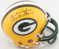 "Bart Starr Signed Packers Mini-Helmet Inscribed ""Best Wishes"" (Beckett COA) at PristineAuction.com"