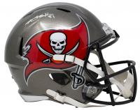 Antonio Brown Signed Buccaneers Full-Size Speed Helmet (JSA COA) at PristineAuction.com