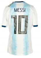 Lionel Messi Signed Argentina Jersey (Beckett COA) at PristineAuction.com