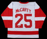 """Darren McCarty Signed Jersey Inscribed """"4x SC Champ"""" (JSA COA) at PristineAuction.com"""