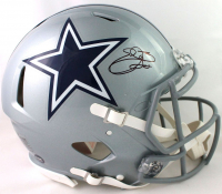 Emmitt Smith Signed Cowboys Full-Size Authentic On-Field Speed Helmet (Beckett COA) at PristineAuction.com