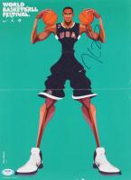 Kevin Durant Signed Team USA 11x14 Magazine Insert (PSA Hologram) at PristineAuction.com