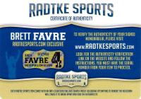 Brett Favre Signed Packers AMP Alternate Speed Mini Helmet (Radtke COA at PristineAuction.com