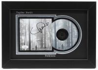"Taylor Swift Signed 10x14 Custom Framed ""Folklore"" Album Photo Display (JSA COA) at PristineAuction.com"