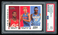 LeBron James / Darko Milicic / Carmelo Anthony 2003-04 Fleer Tradition #291 RC (PSA 9) at PristineAuction.com